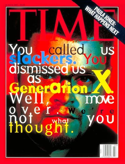 Time on Gen X reconsidered
